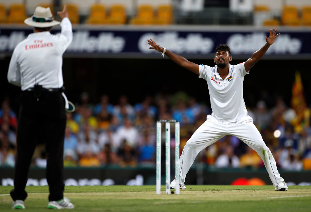 Lakmal bags second consecutive five-for in Brisbane