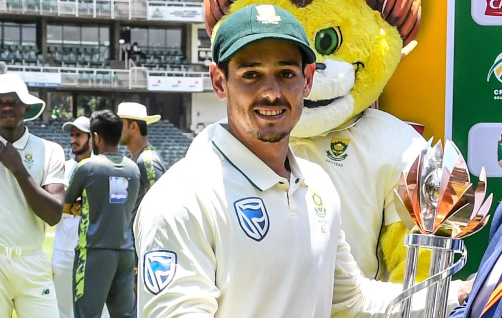 De Kock: I've worked hard for this