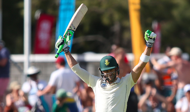 Masterful Faf's maiden Newlands Test ton a cracker