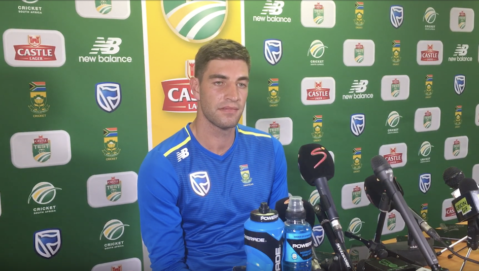 WATCH: Duanne Olivier on his 5-51 vs Pakistan