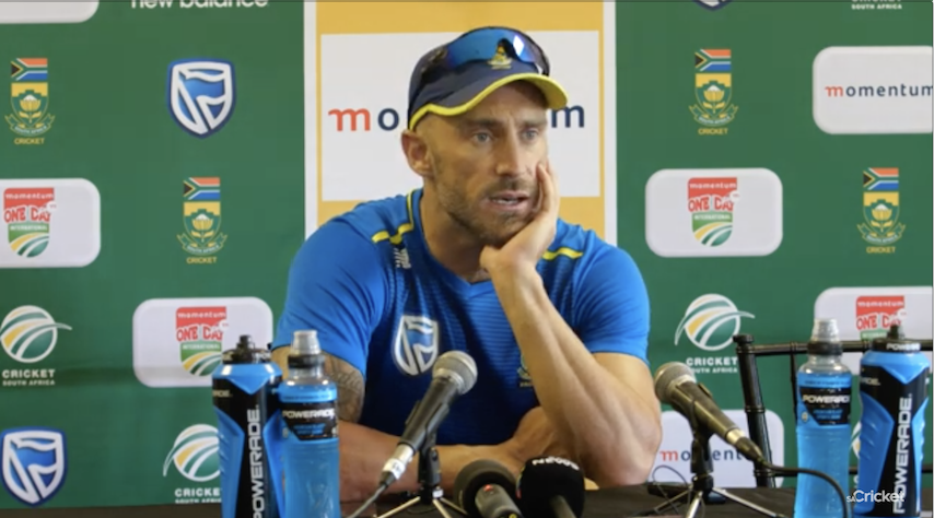 Proteas need to adapt - Faf