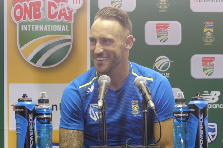 Faf calls for consistency after 'rusty' Proteas performances