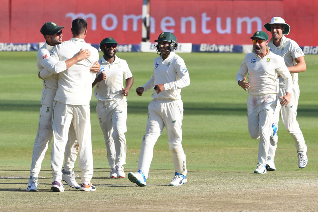 Proteas move to No 2 in Test rankings