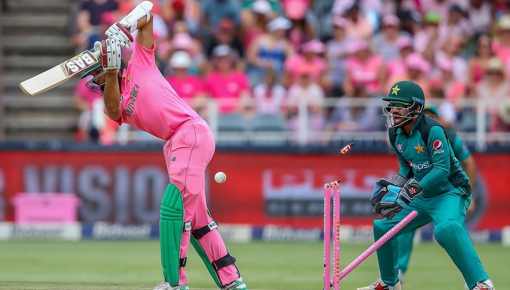Pakistan break SA's Pink Day streak