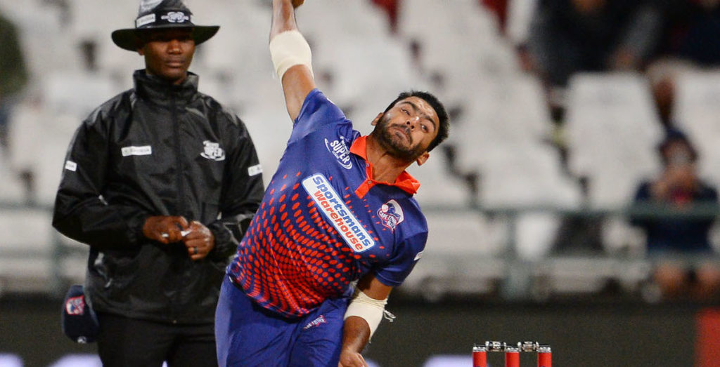 Cape Town Blitz all-rounder to play against SA