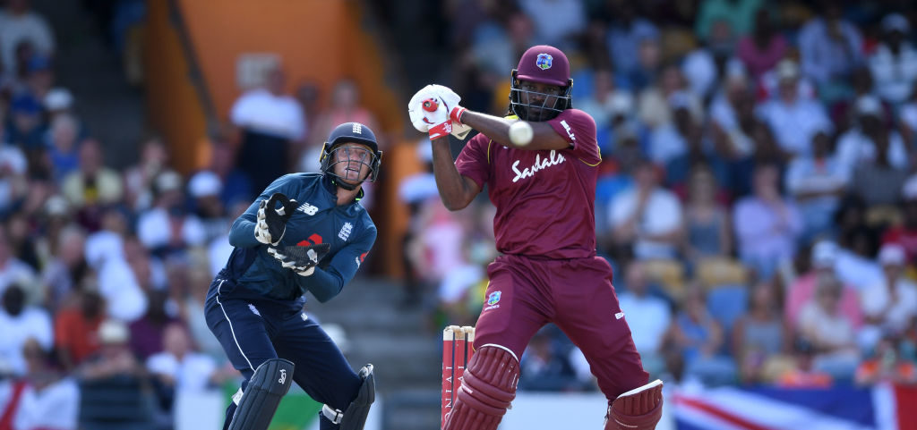 Gayle century not enough for Windies