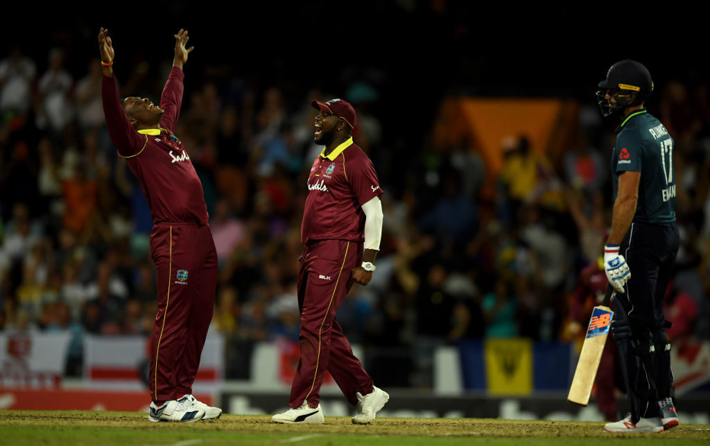 Cottrell five-for crushes England