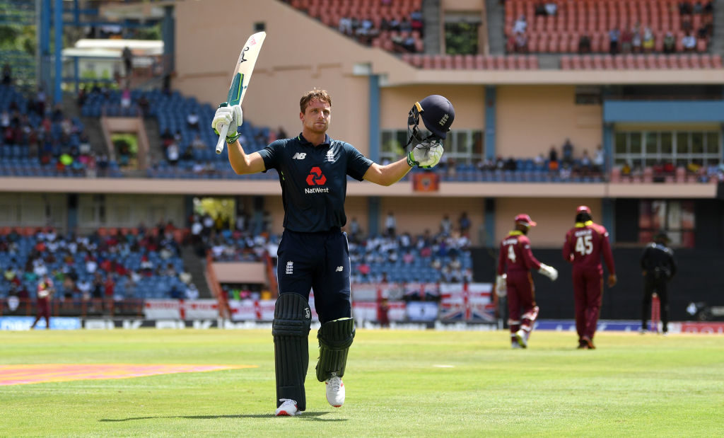 Buttler's 150 blasts Windies aside in 800-run thriller