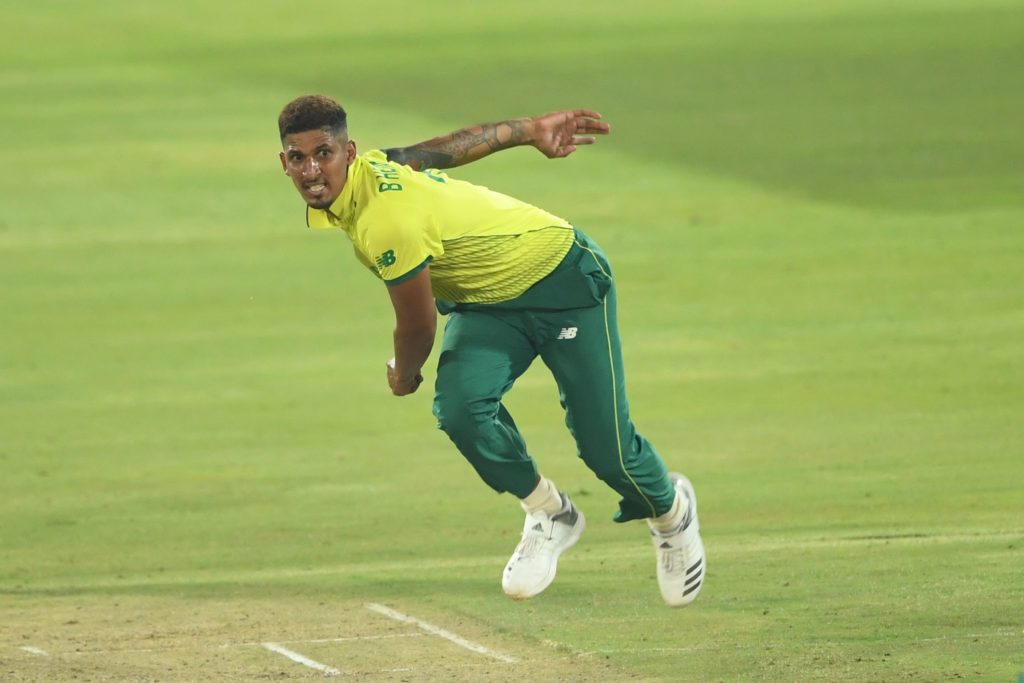 Beuran's four wickets not enough for Proteas