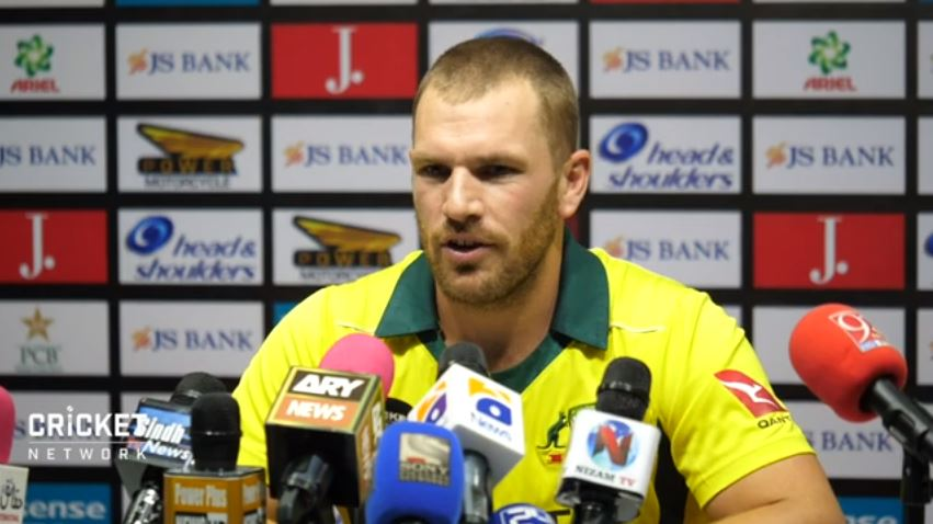 Finch hopes Aussies keep momentum from India win