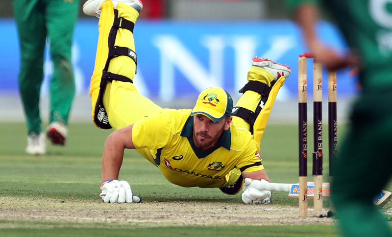 Finch misses another ton, but wins series
