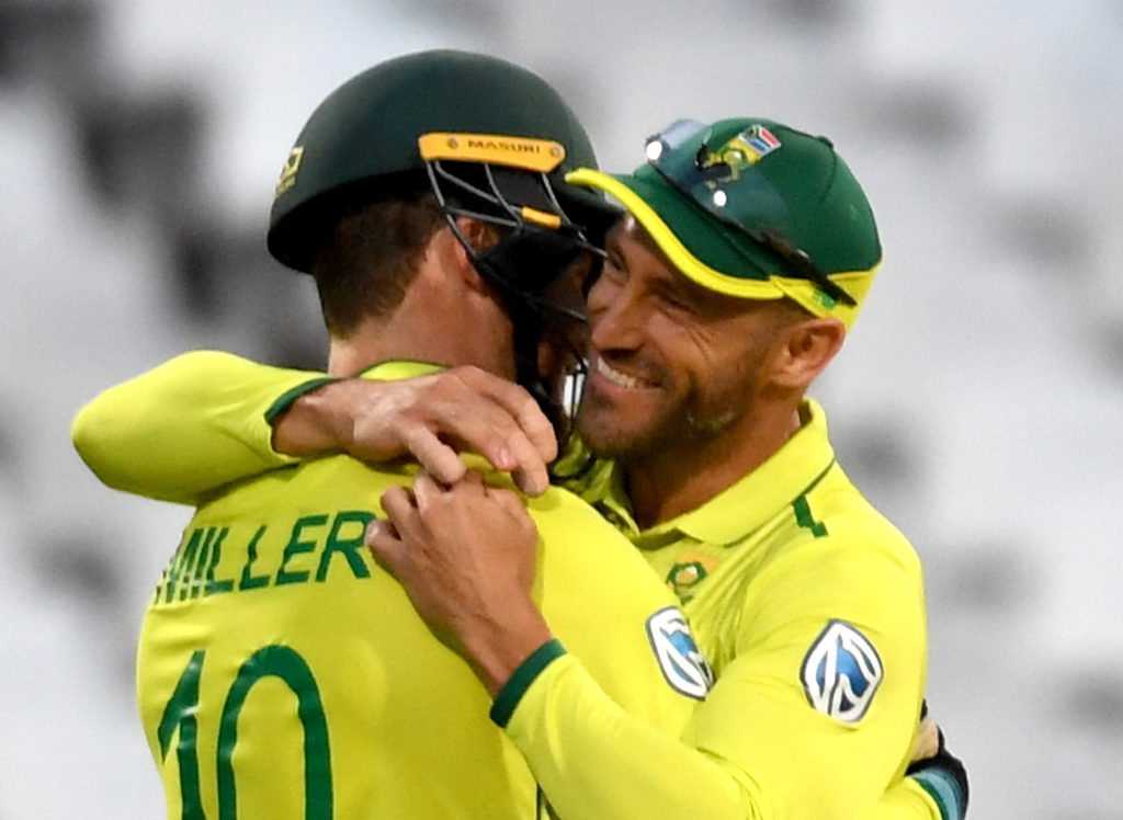 Faf welcomes tight finish before taking break