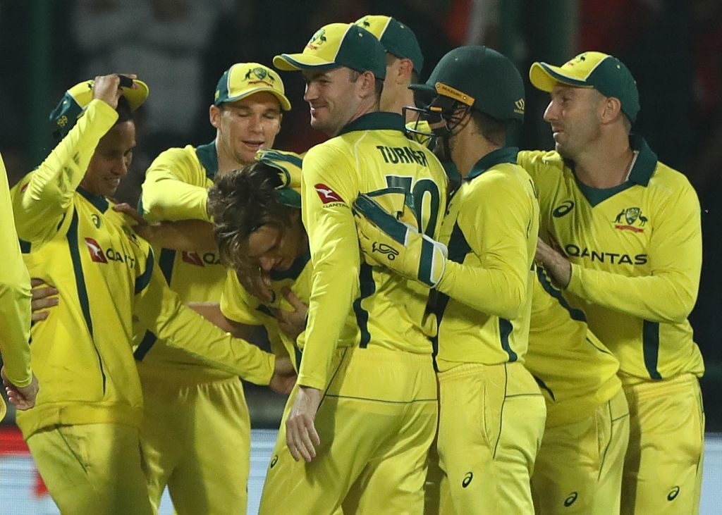 Aussies muscle India out for series win