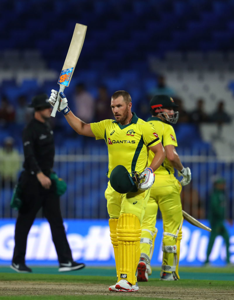 Finch ton fires Aussies to victory