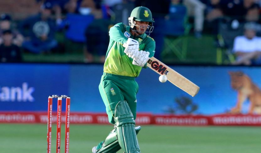 De Kock close to beating his own and Rhodes' record