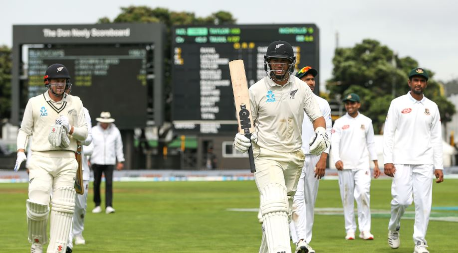 Taylor doubles up in Wellington
