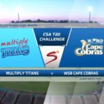 HIGHLIGHTS: Titans vs Cobras (T20)