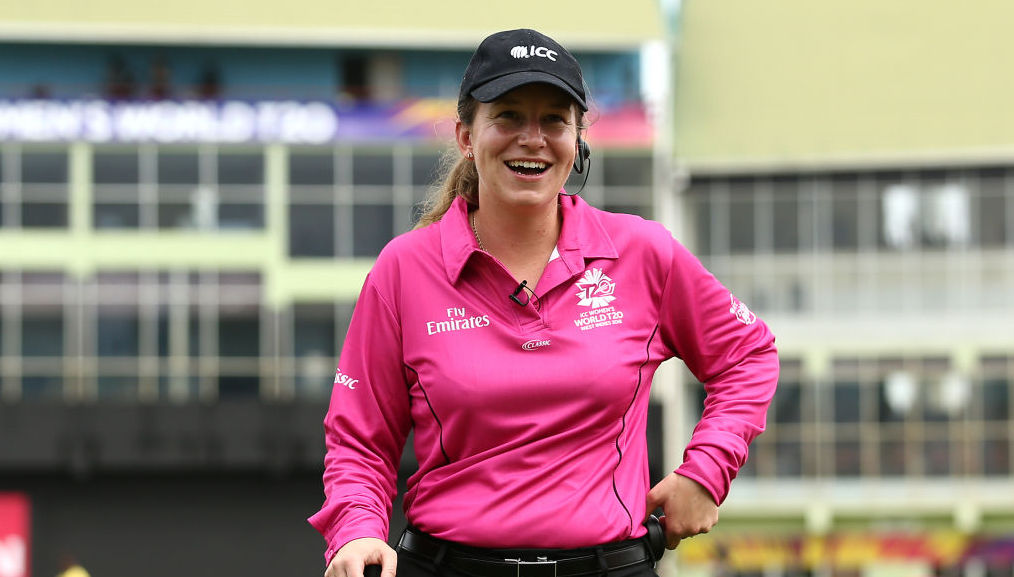 Polasak becomes first woman to umpire a men's ODI