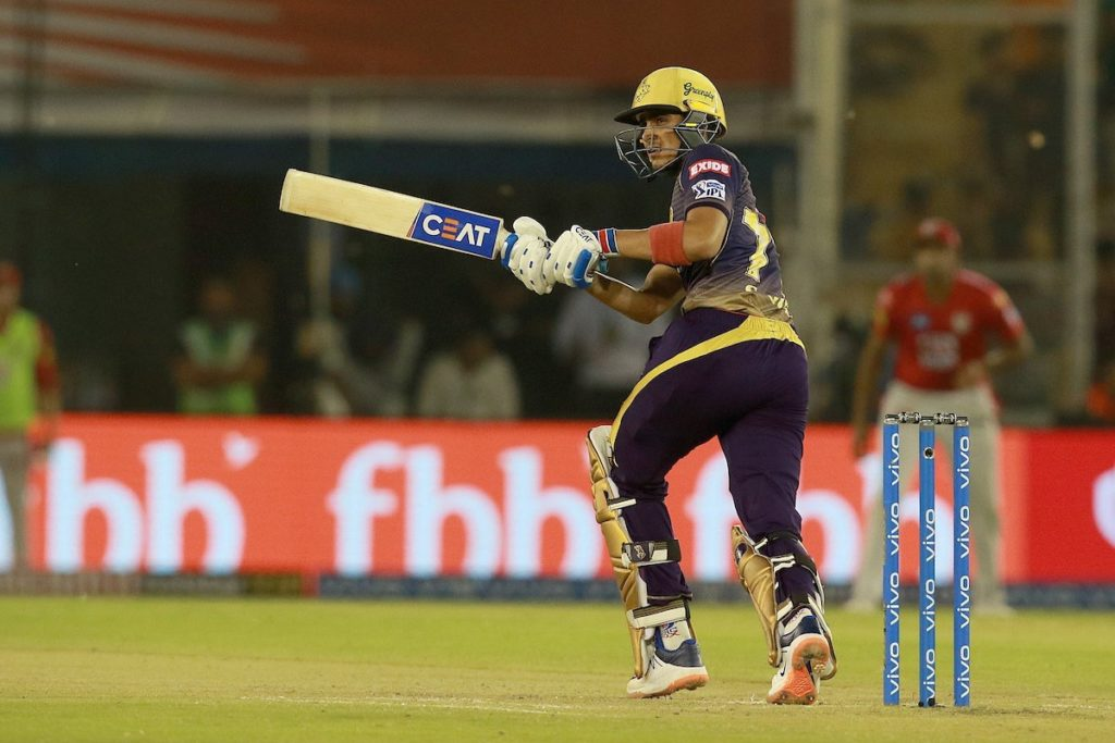 Gill propels KKR's playoff hopes