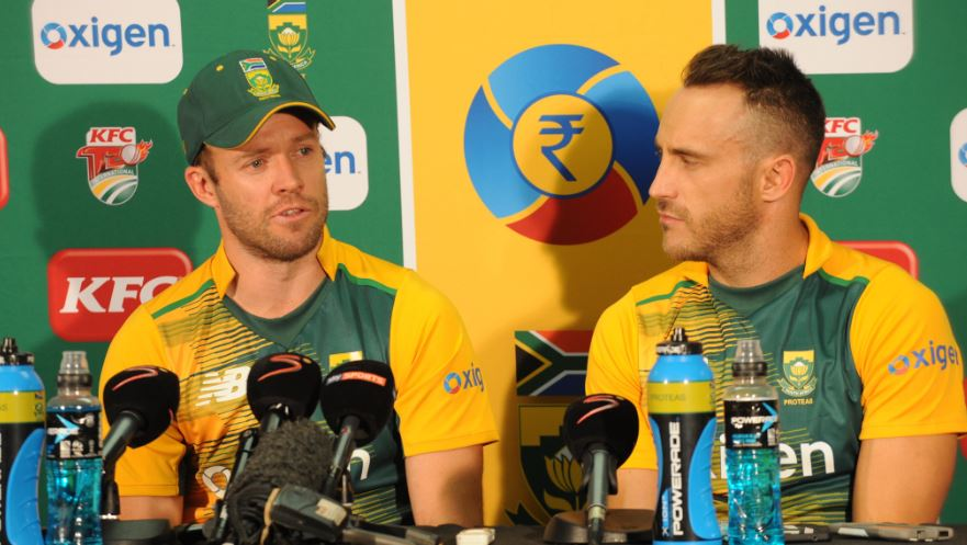 AB says he persuaded Faf to not go Kolpak