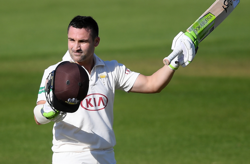 40th first-class century for Elgar