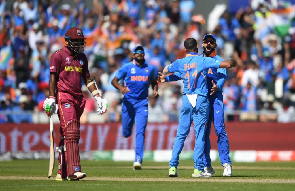 India destroy West Indies