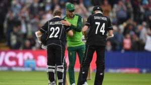 Kane Williamson and Faf du Plessis