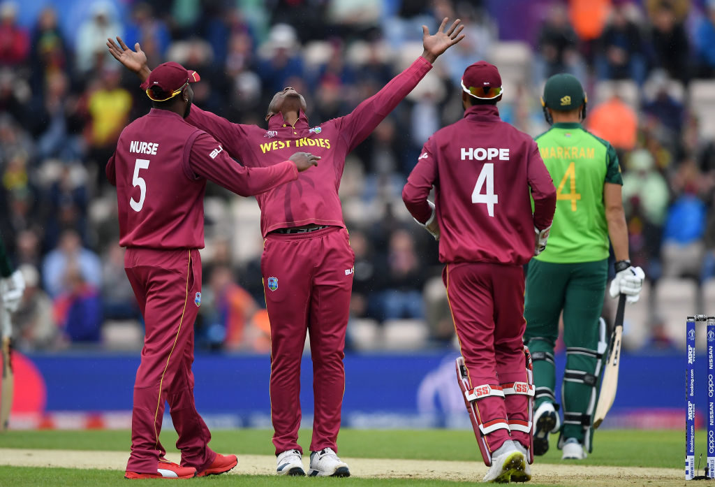 Proteas on the board after washout