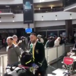 Watch: Proteas' arrival back in South Africa