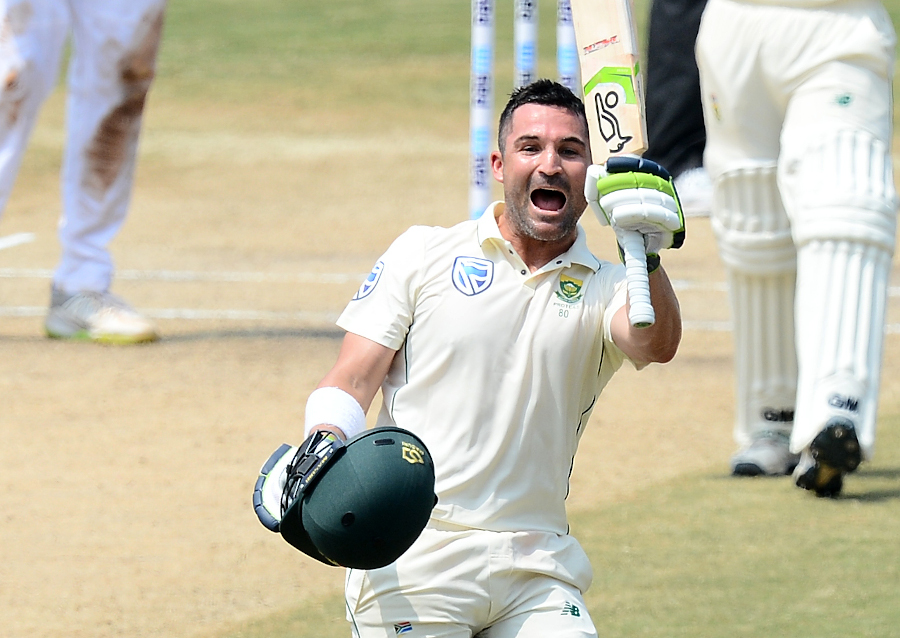Elgar tons up as India drop two catches