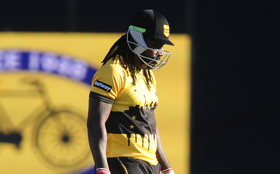 Gayle determined to finish on a high