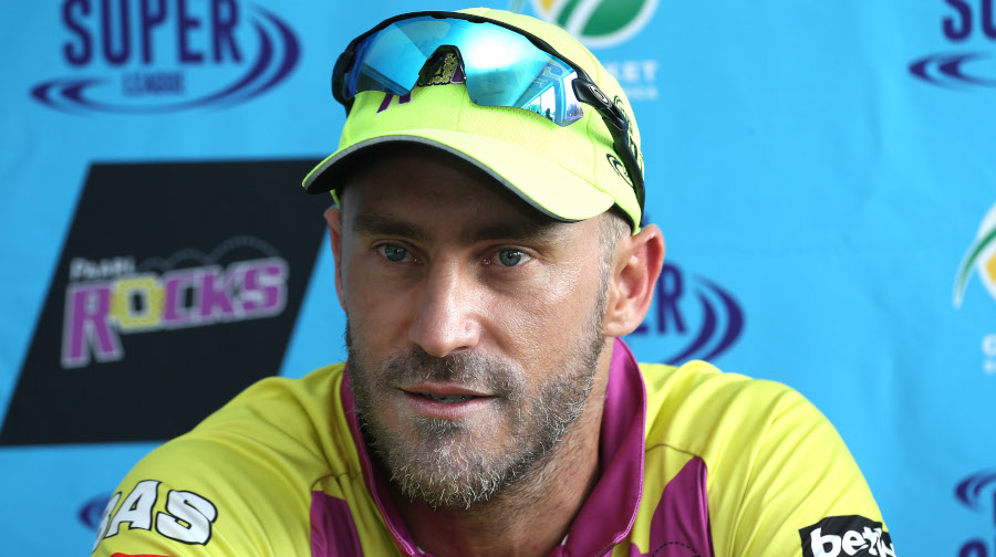 Faf: All about winning your home games
