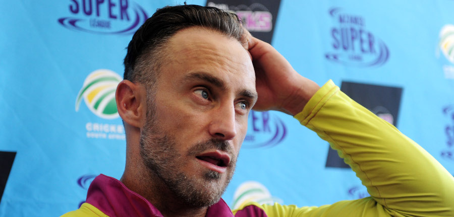 Faf: Time to look ahead from all this crap
