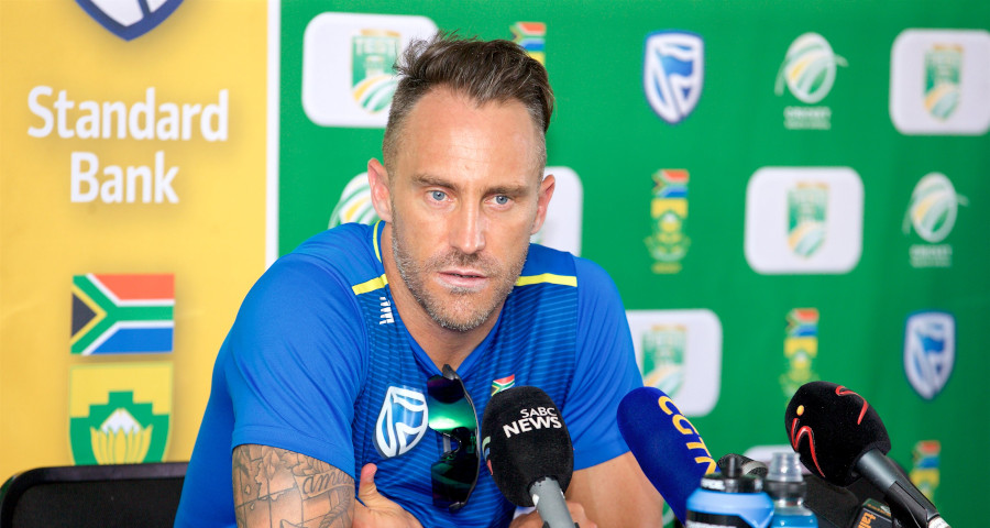 Du Plessis permanently hands over captaincy reins - SA Cricket Mag