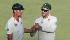 Dwaine Pretorius and Faf du Plessis