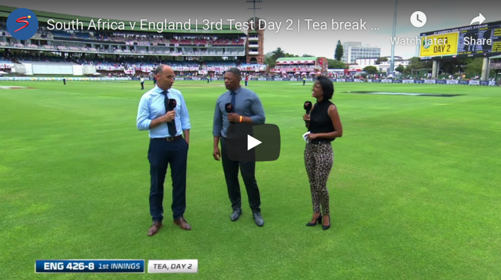Watch: Ollie Pope's century puts England in commanding position
