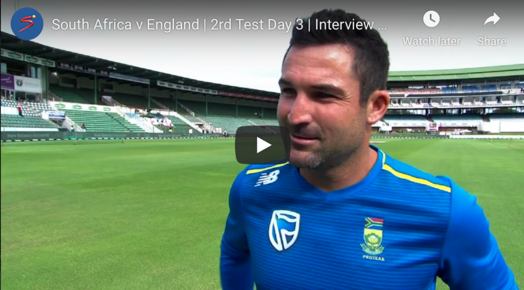 Watch: Elgar on grinding it out on the PE pitch
