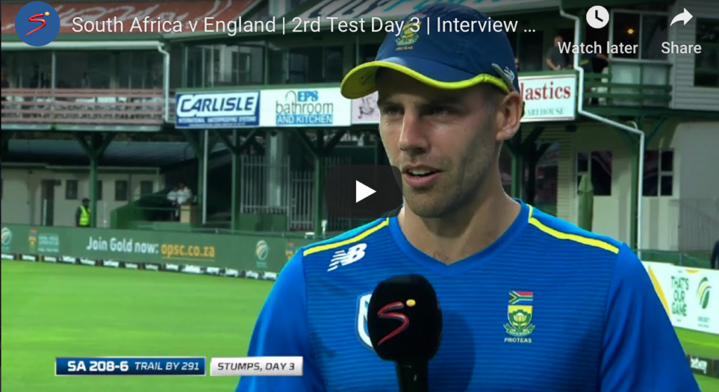 Watch: Nortje on his batting display