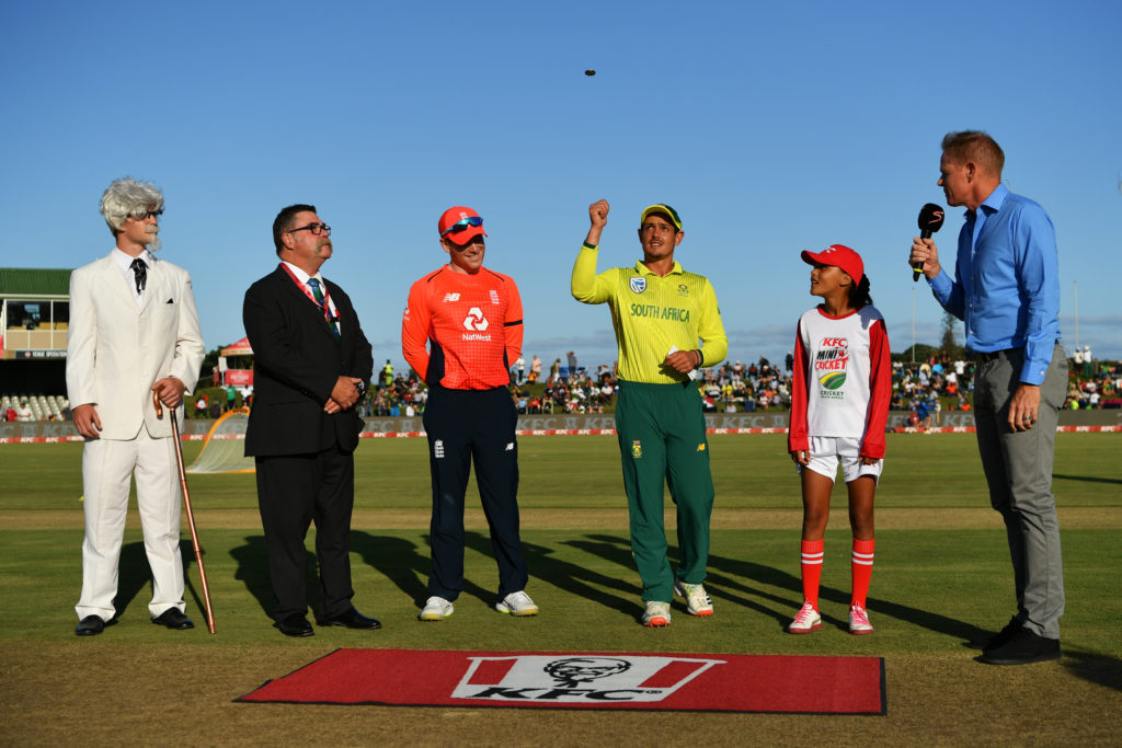 De Kock wins toss, SA bowl first in 2nd T20I