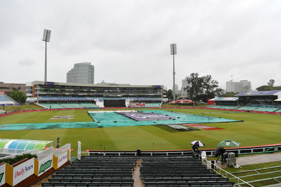 First points for Knights after washout
