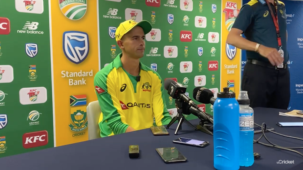 Watch: Agar on his magnificent hat-trick
