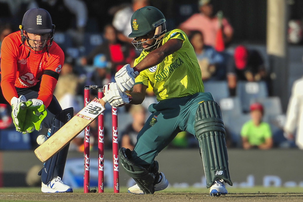 Flying start sees Proteas post 177-8