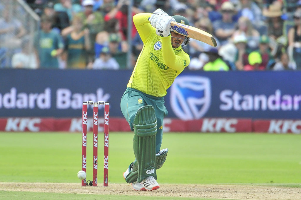 Proteas post 158 at St George's Park