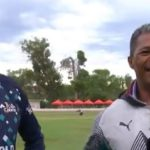 Watch: Makhaya and son in conversation