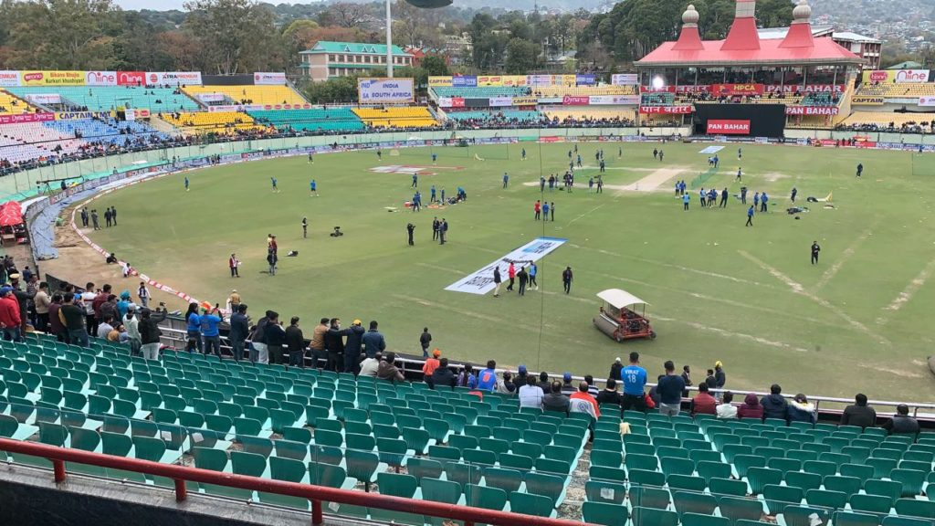 Wet conditions delay start of first ODI