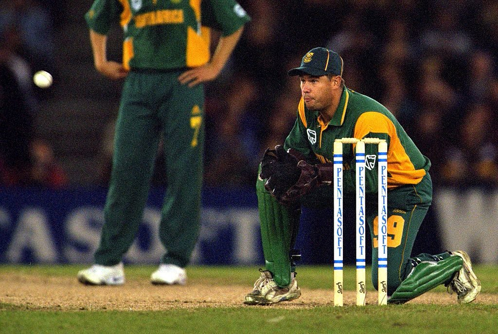 Three times SA used a stand-in keeper