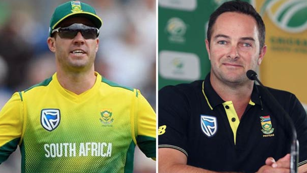 AB de Villiers and Mark Boucher