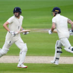 Dom Sibley and Ben Stokes