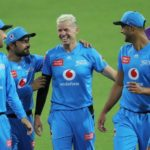 Strikers smash Hurricanes
