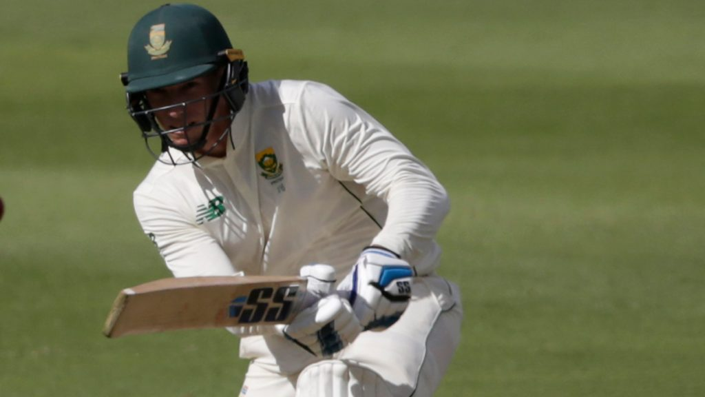 Lunch: Proteas stumble, then stabilise